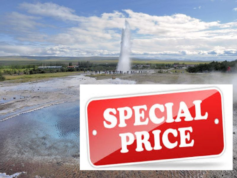 GOLDEN CIRCLE tour Iceland - Special Price / Offer