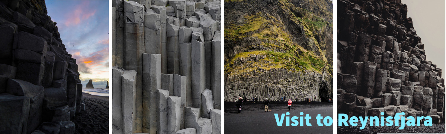 Reynisdrangar Midnight sun travel offers package tours for visitors to Iceland