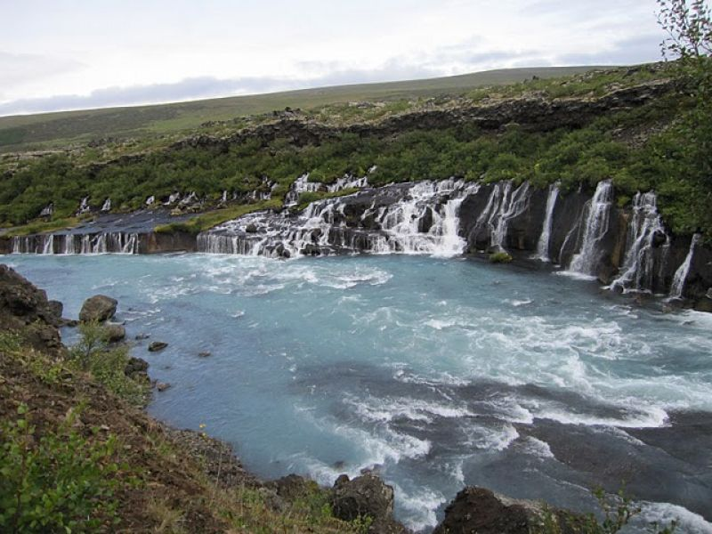 Day Tours for Groups: 3 in 1: West Iceland, Geothermal Bath and Northern Lights