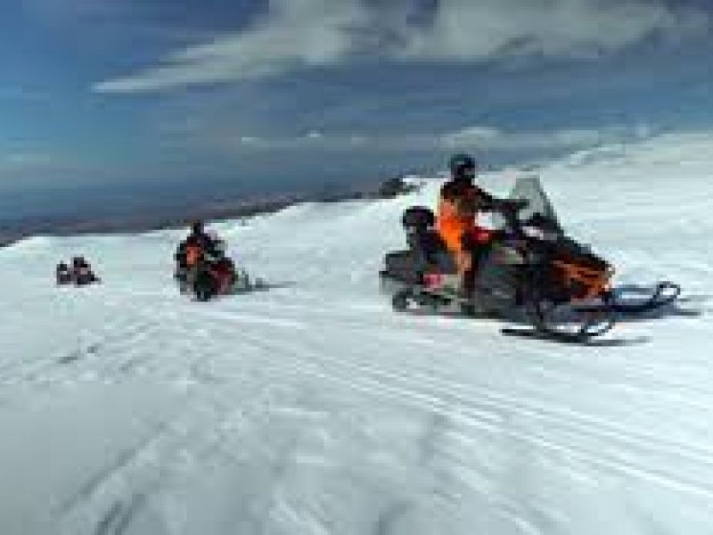 Day Tours For Groups: Snowmobile on an Icelandic Glacier, 4x4 Super Jeep and South Coast Iceland